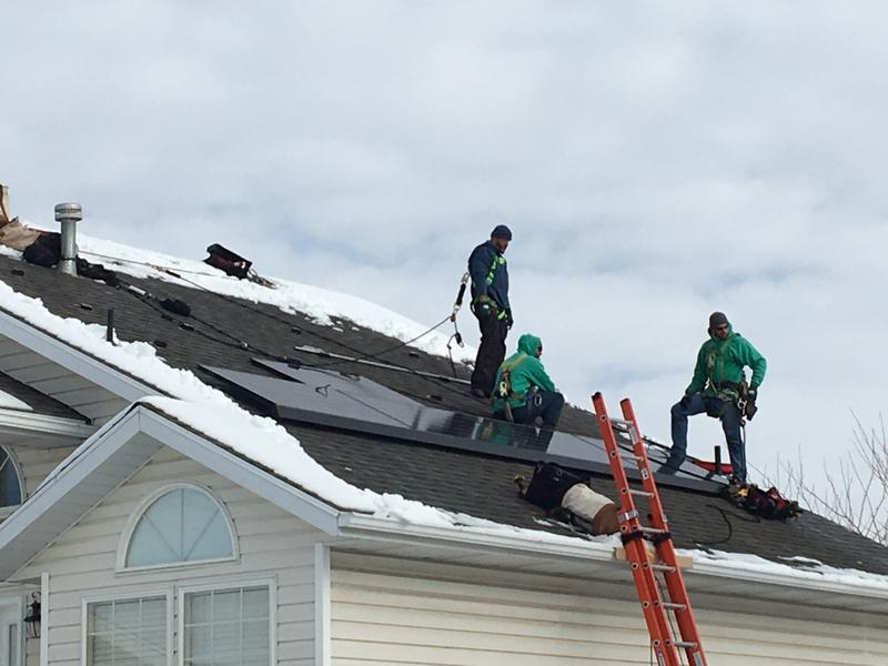An installation like this generally takes about half a day. The industry was booming before Utah became the latest state to consider changing the formula for charging rooftop solar customers and paying them for the energy they contribute to the grid.