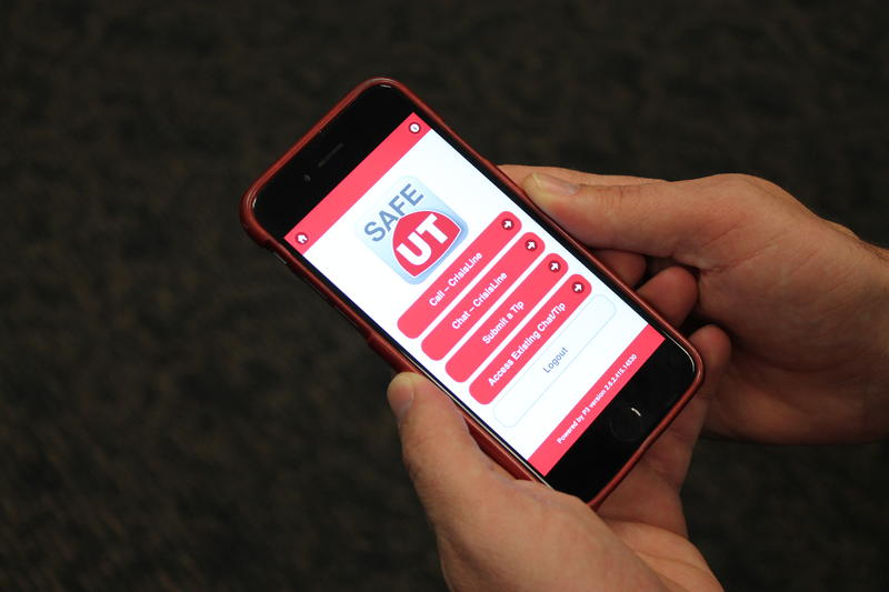 The SafeUT smartphone app allows students to anonymously notify their schools of potential threats or corncern for peers.