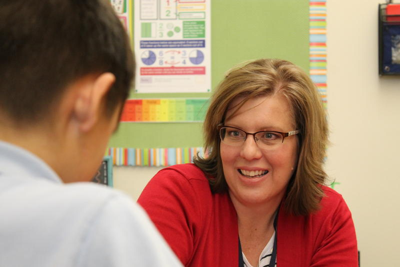 Stephanie Johnson nearly left special education last year due to the intense workload.