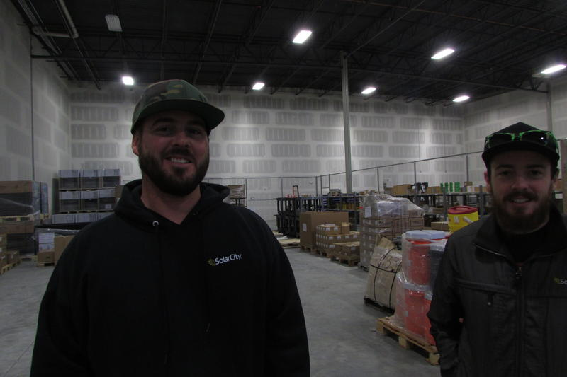 Aaron Gray and Ian Boshard lost their solar-industry jobs in Nevada after rooftop solar rates were rewritten. They work in Utah now, but the possibility that solar rates will be rewritten here makes them uncertain how long their jobs will last.