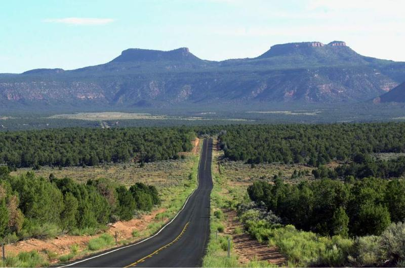 The Bears Ears in San Juan County, Utah.