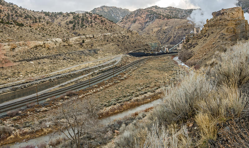 The Price River, which runs below the now-defunct Carbon Power plant, was polluted when stormwater tore into the coal ash waste system last summer. Rocky Mountain Power has agreed to pay the state penalties and reimbursements totalling $15,385.