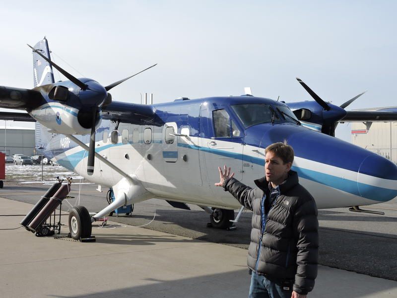 Steve Brown of the National Oceanographic and Atmospheric Administration is one of the principle investigators on the first-of-its-kind pollution study in northern Utah. He says the plane is needed gather crucial data.