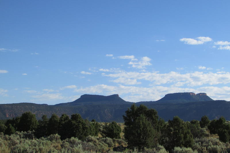 The twin buttes in southeastern Utah are now part of the Bears Ears National Monument, but Republicans in Utah's Capitol passed a resolution that asks President Donald Trump to change that.