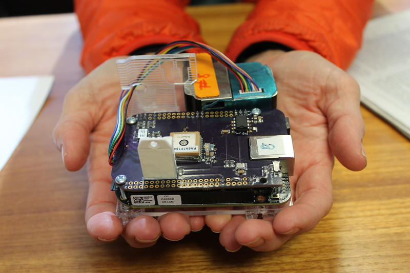 "These ""AirU"" devices will help track air quality throughout Salt Lake County."