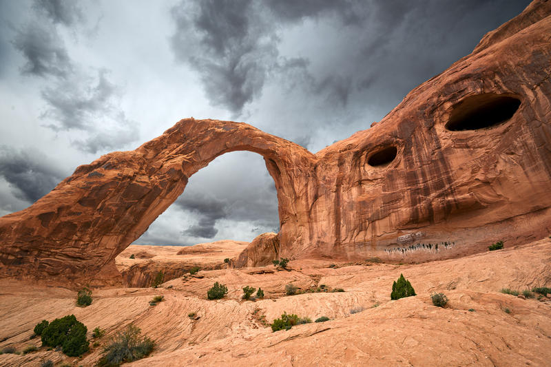 Corona Arch on BLM Lands in Utah.