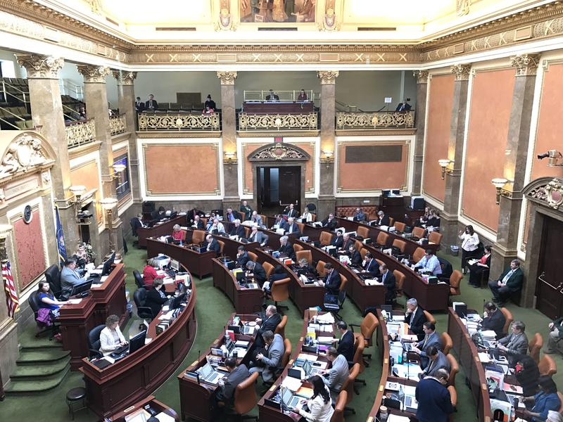 The Utah House discusses pending bills in the waning day of the Legislative session on March 7, 2017.
