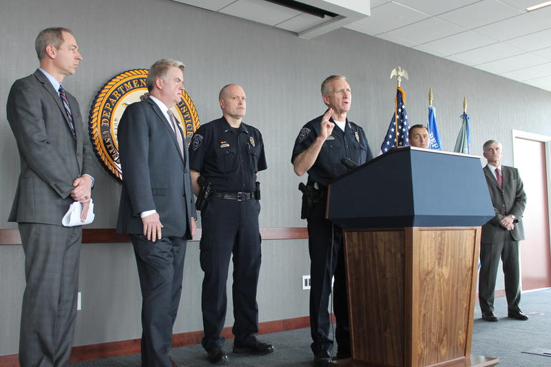Salt Lake County Sheriff Jim Winder voices his support for new statewide gang initiative.