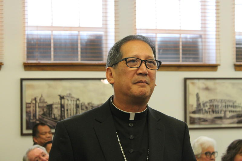 Oscar Solis is the first Filipino-American Bishop ordained in the U.S.