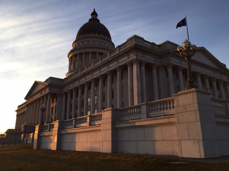 The Utah Capitol building.