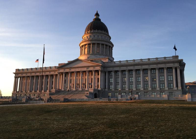 The Utah Capitol building.