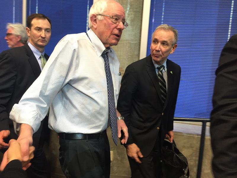 Sen. Bernie Sanders will be making a stop in Utah next week as part of a DNC unity tour.