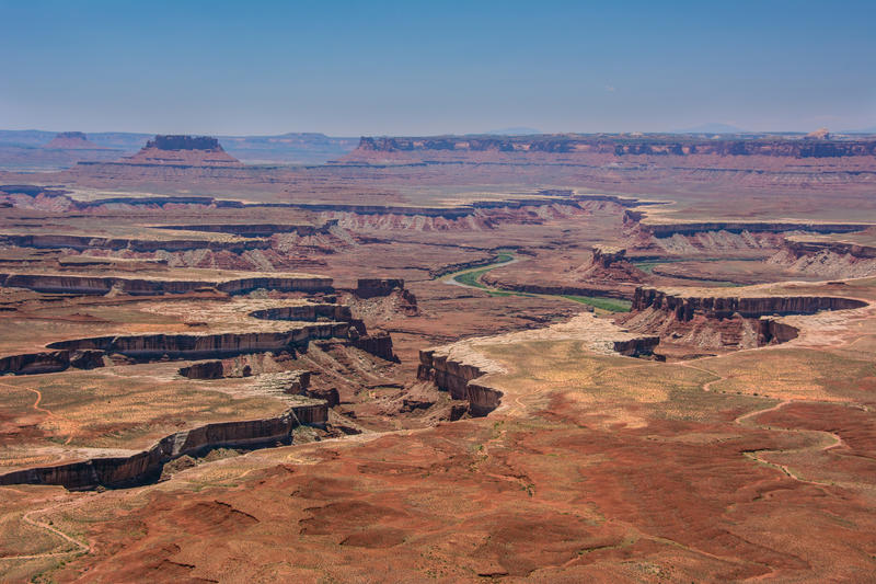 Canyonlands National Park lies within the San Juan School District boundaries.
