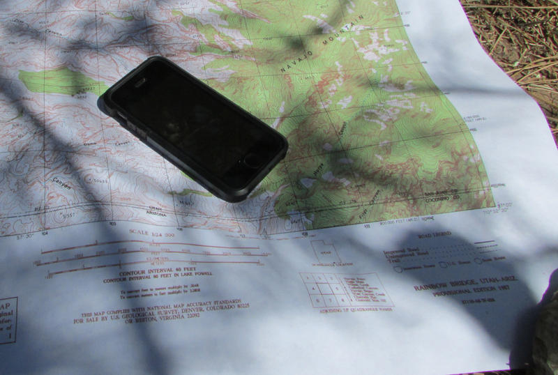 Backcountry travelers can opt for handy, interactive smartphone maps now. And the old paper versions are still available, too.