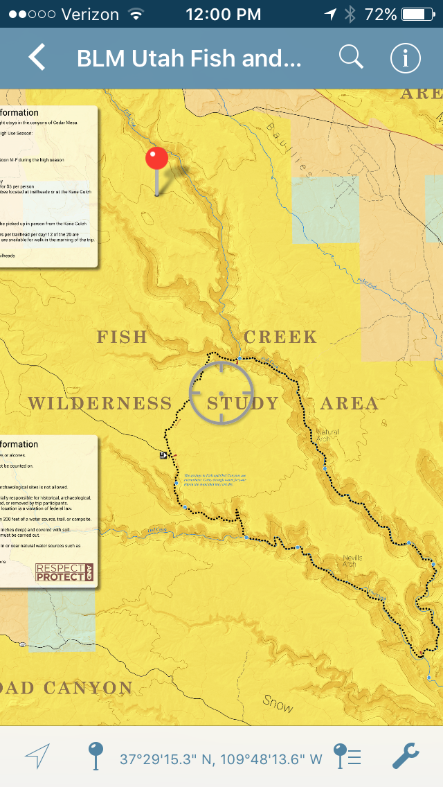 Apps Join Paper Maps To Help Utah Backcountry Navigation   KUER 90.1