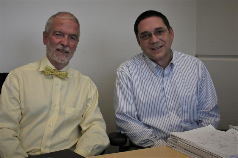 Stefan Pulst, Chair of the University of Utah Neurology Department and Associate Professor of Neurology, Daniel Scoles