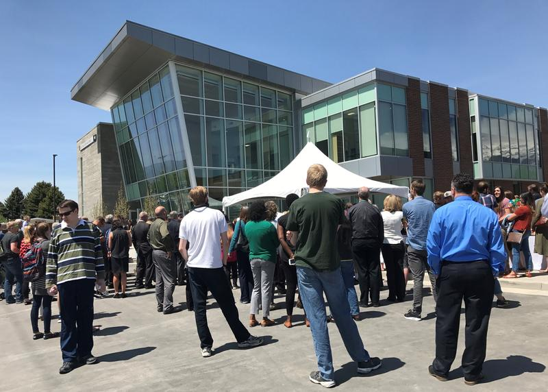 The new Cole Nellesen Building on UVU campus.