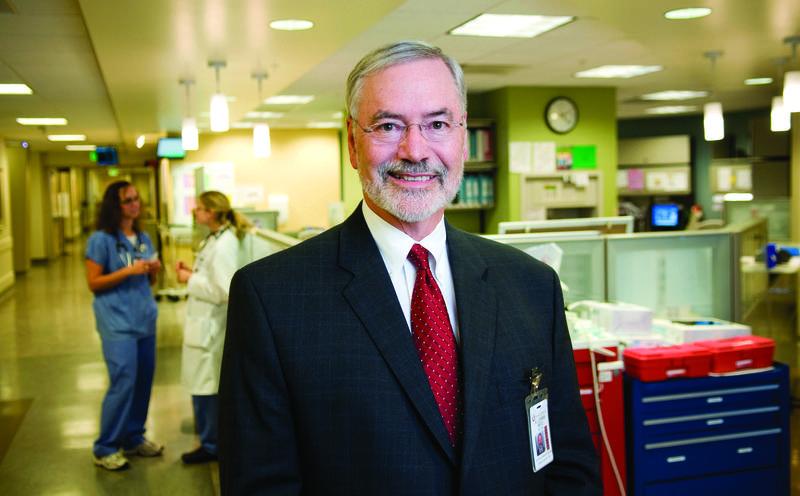 Interim Senior Vice President for Health Sciences Lorris Betz