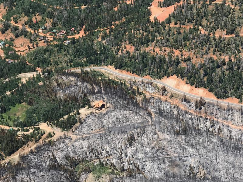 Firefighters have been able to save forest homes in the 43,000 acres where the Brian Head Fire has burned. Officials are asking the public to mind evacuation notices, fireworks restrictions and commonsense practices for preventing wildfire.