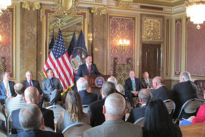 Utah Gov. Gary Herbert accepts advise from his Water Strategy Task Force on key issues to key in mind when considering Utah's water future. He says foremost is making sure that Utah has enough water resources to continue to grow.