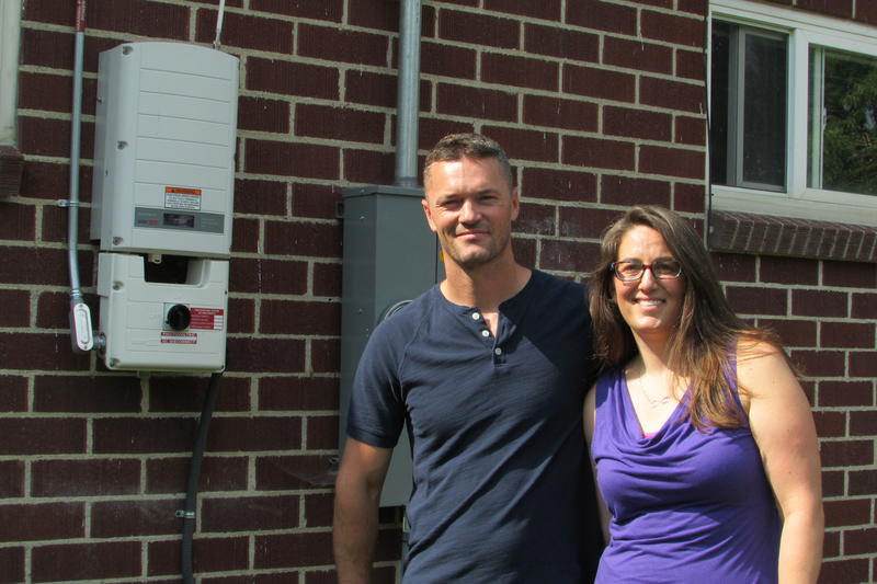 Ray and Erin Searles invested $18,000 on solar panels last year. They worry if the Public Service Commission allows the cost of rooftop solar to go up, it will be a hit to their bottom line.