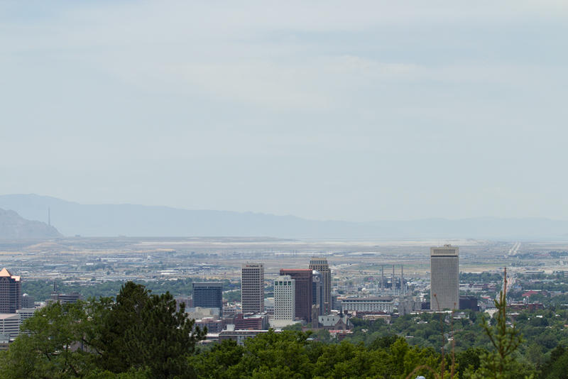 Salt Lake City has logged 13 days this summer when ozone pollution -- which can harm even healthy people -- has reached levels deemed unhealthy by the U.S. Environmental Protection Agency. A cleanup plan could be next.