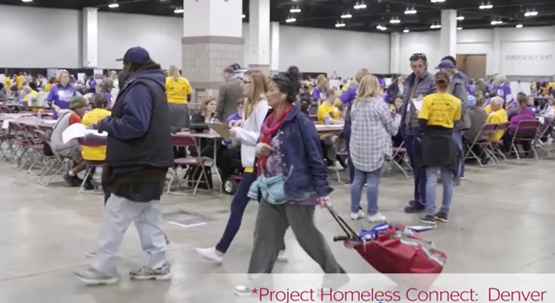 Project Homeless Connect is already underway in cities like Denver.