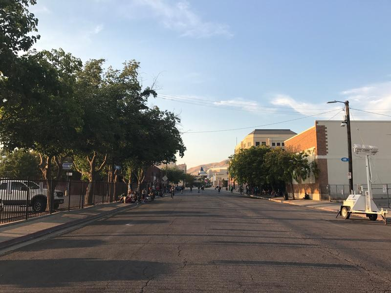 Rio Grande Street is now closed to traffic as the city attempts to crack down on drug trafficking and crime in the area.