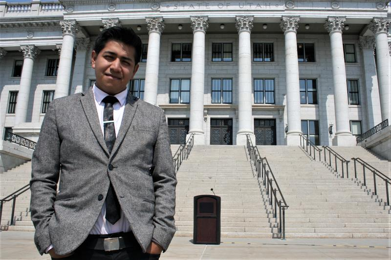 Deyvid Morales was a DACA recipient in Utah for four years before he married a U.S. citizen.