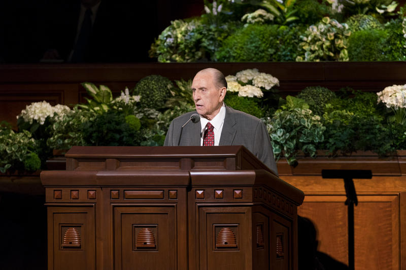 Thomas S. Monson has been scaling back his duties as church president for some time.