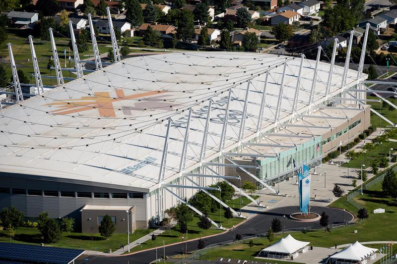 Utah Olympic Oval in Kearns