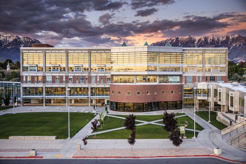 Utah Valley University in Orem is the state's largest college and one of the fastest growing campuses.
