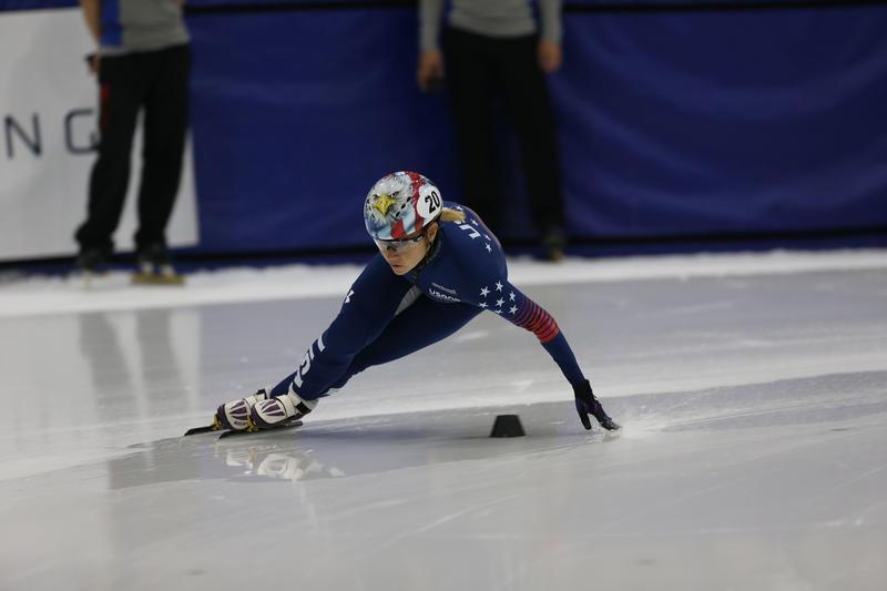 Short Track Speed Skater Jessica Kooremen