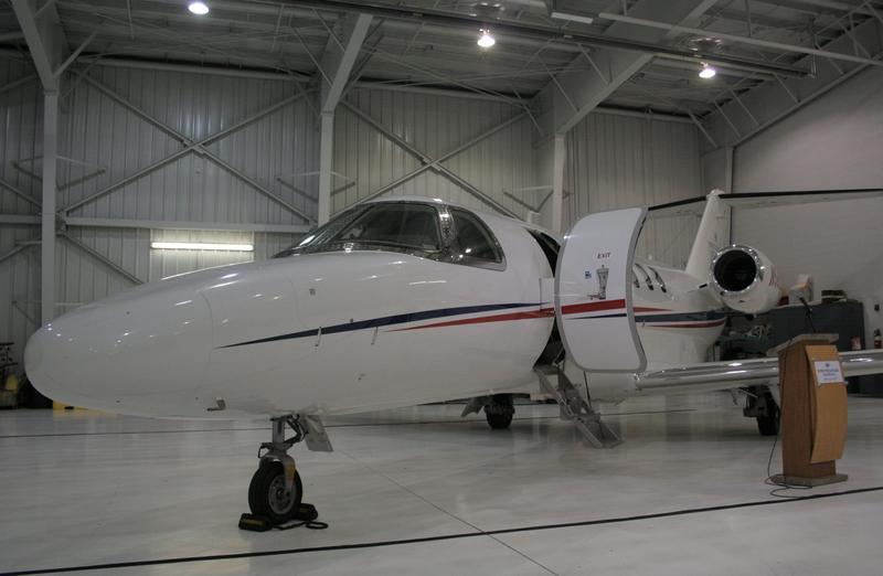 Intermountain Life Flight's new Cessna CJ4 jet.