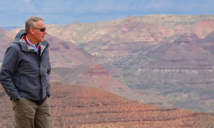 U.S. Interior Secretary Ryan Zinke visited the Grand Staircase National Monument in southern Utah in May. A bill by Utah GOP Congressman Rob Bishop would overhaul the law that led to the creation of Grand Staircase 21 years ago.