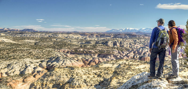 Overlooking the Grand Staircase-Escalante National Monument