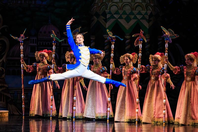 Soloist Alexander MacFarlan in Ballet West's 'The Nutcracker'