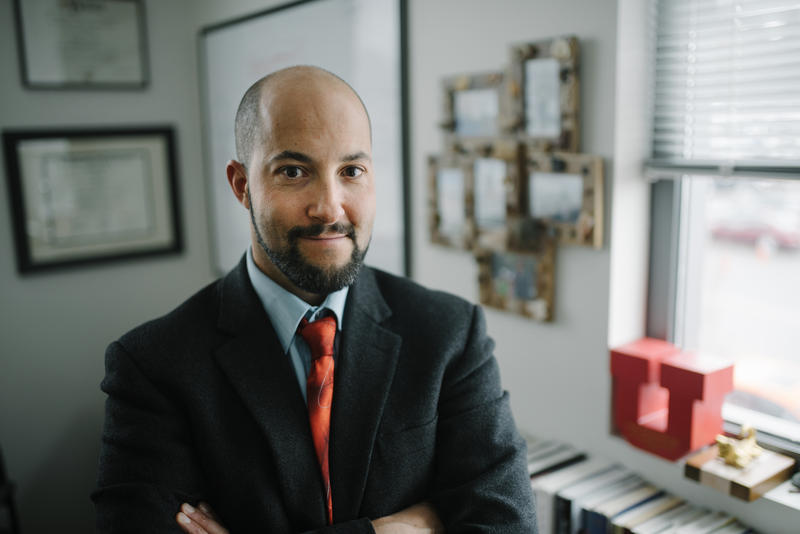 Eric Garland is the director of the Center on Mindfulness and Integrative Health Intervention Development and the associate dean for research in the University of Utah College of Social Work.