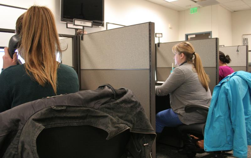 Health educators at the Salt Lake County Health Department answered phones on Tuesday after the hepatitis A scare at a West Jordan 7-Eleven.