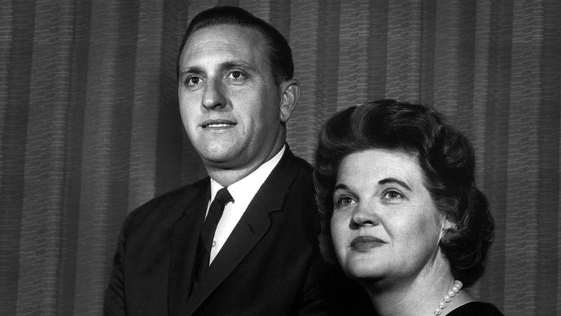 Thomas S. Monson with his wife, Frances.