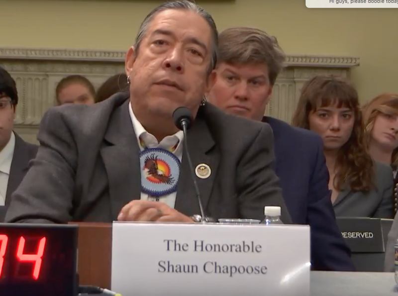 Shaun Chapoose, a Ute Indian Tribe leader, said the dialogue between the federal governments and tribal governments has eroded because of the way Bears Ears has been handled.