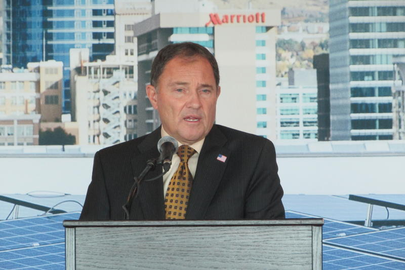 Utah Gov. Gary Herbert (R) had his staff help draft the compromise that lawmakers would memorialize in SB141, which lawmakers are considering now. Homeowners, solar companies and Rocky Mountain Power all wanted more stability for their costs.