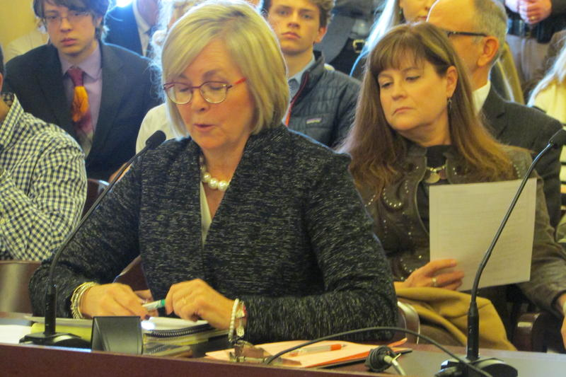 Rep. Becky Edwards, R-North Salt Lake, presented her HCR7 on climate change Tuesday. The committee wrapped up the discussion Thursday, and passed the measure, 8-3.