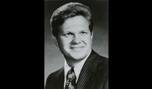 A portrait of Joseph Bishop during his time as president of Weber State College in the 1970s, about a decade before the alleged attack.