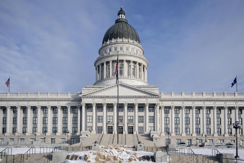 Utah State Capitol building.