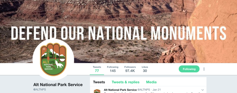 "Many ""rogue Twitter accounts"" are attached to national parks, and they hide the true identity of the person who holds the account. Under the Hatch Act, these federal workers could also lose their jobs by getting too active in partisan politics."
