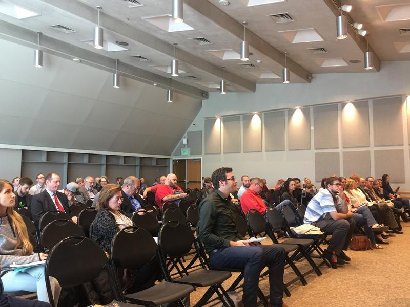Members of the public streamed in and out of a meeting with the Utah Department of Agriculture and Food on Thursday to talk about Utah's new marijuana and hemp laws. The meeting lasted most of the morning and afternoon.