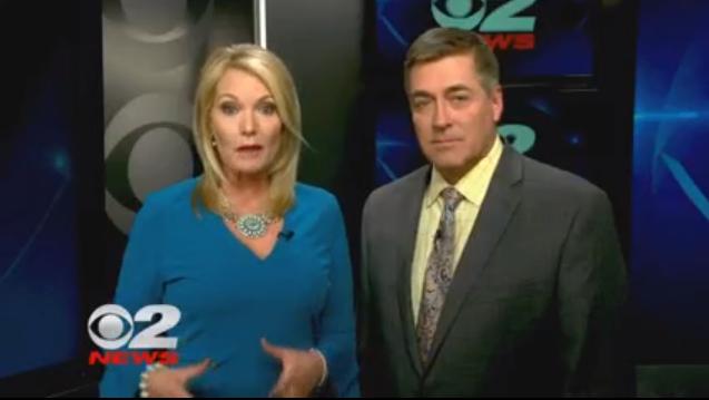 "KUTV anchors Shauna Lake and Mark Koelbel were directed to read a promo denouncing ""false news."""