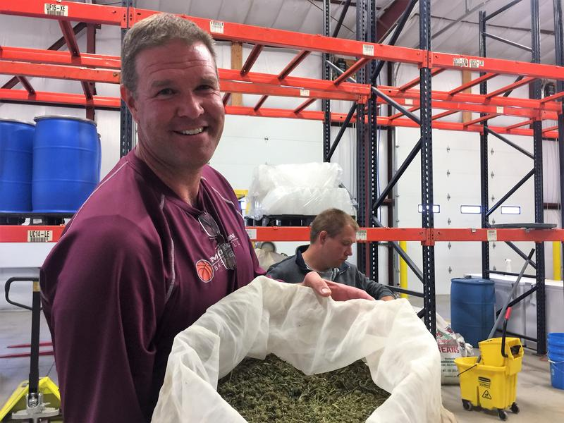 David Schenk runs Speedy Grow Inc. in Grand Junction, Colorado. He'd like to bring the business to Utah.