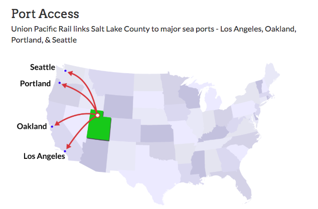 Salt Lake City has been wrestling with state officials about plans for an inland port, often called the biggest-ever economic development project in Utah.
